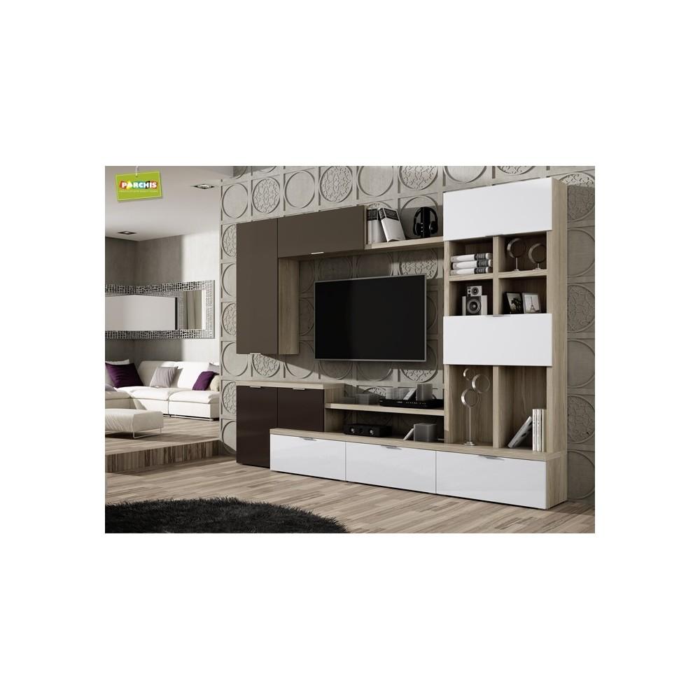 Muebles de sal n para espacios reducidos for Muebles de salon madrid