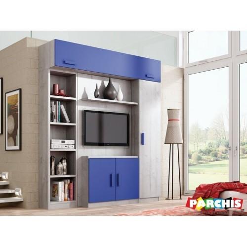 Camas ocultas para salones muebles cama horizontales - Camas muebles abatibles ...