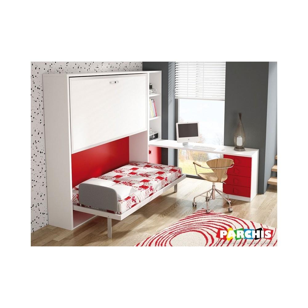 Donde comprar literas abatibles met licas muebles for Habitaciones juveniles con literas