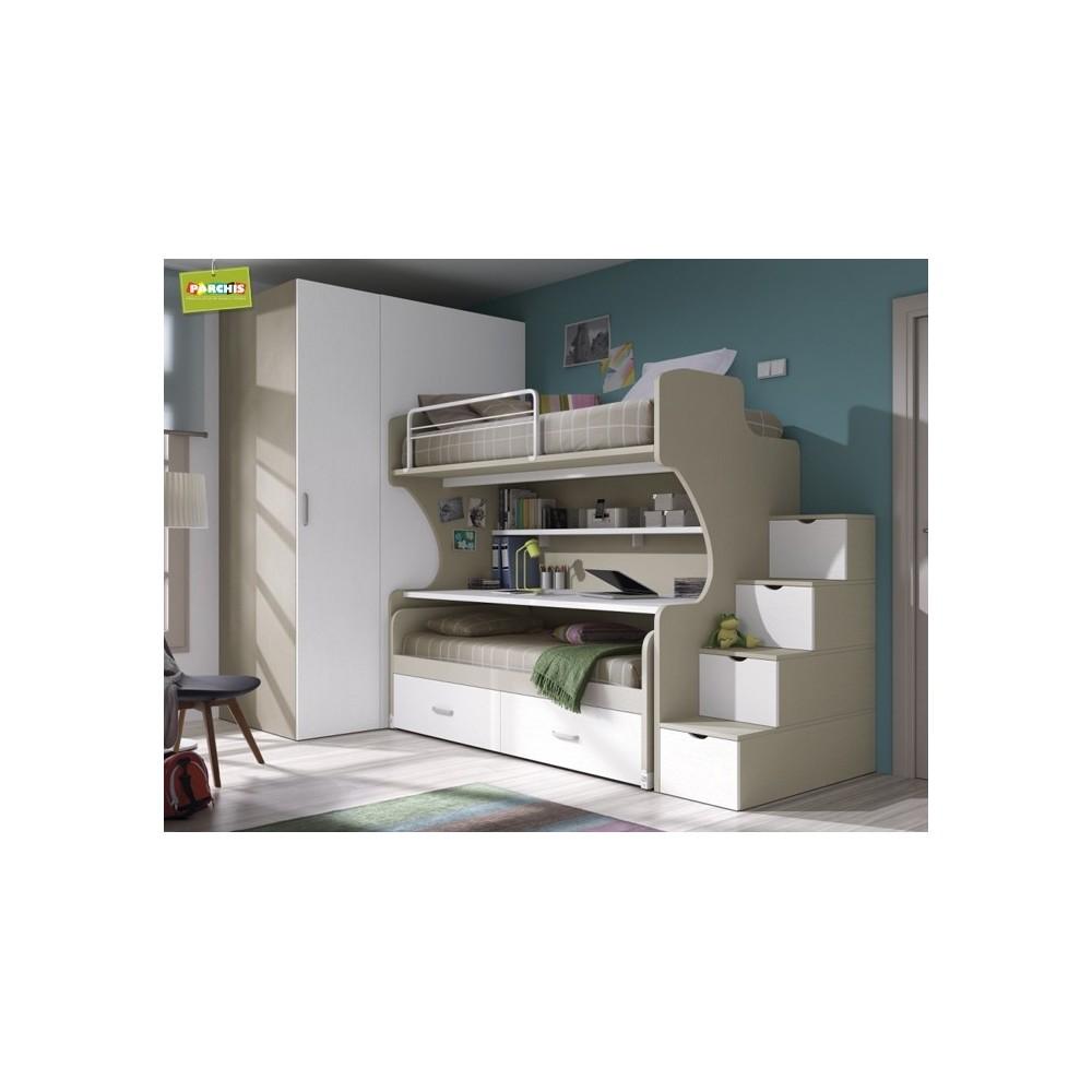 Donde comprar literas fijas en madrid ver modelos de literas fijas - Habitaciones juveniles muebles tuco ...