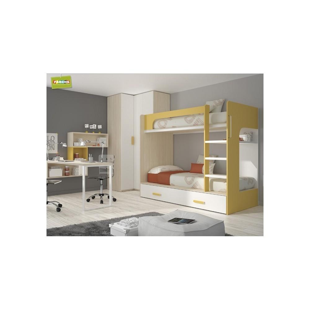 Dondecomprarmueblesjuvenilestriples literas con tres camas for Amoblamientos de dormitorios juveniles