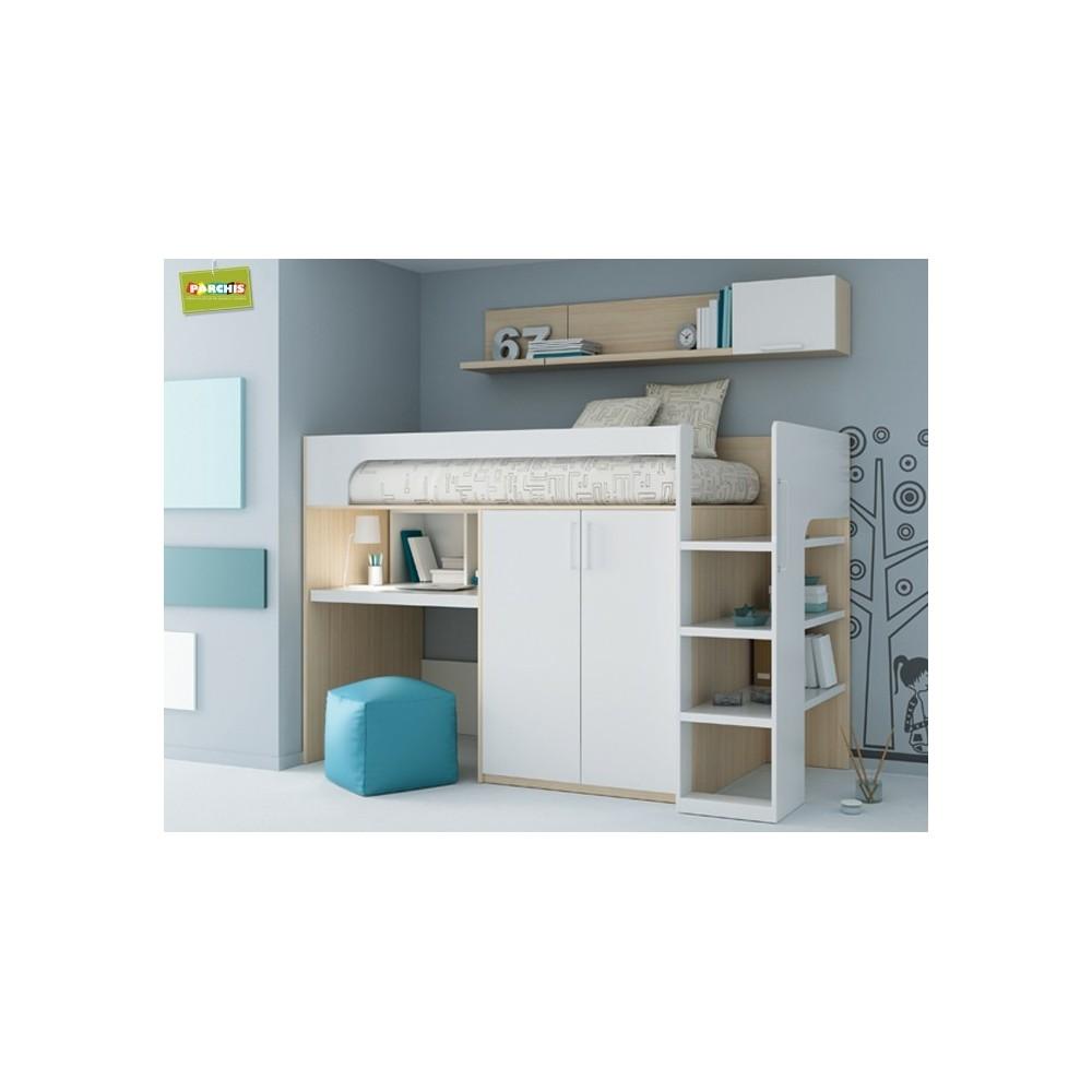 Como amueblar un dormitorio peque o con cama armario y - Armarios para dormitorios pequenos ...