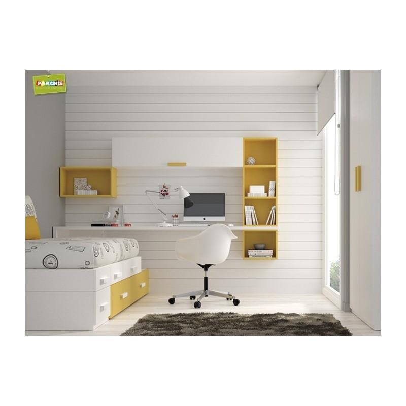 Dormitorio Cama Nido Amarillo