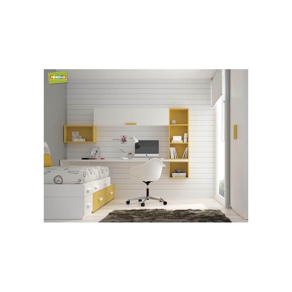 Dormitorio cama nido dise os arquitect nicos - Habitaciones con camas nido ...