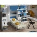 Dormitorios con Camas Abatibles Verticales de 105