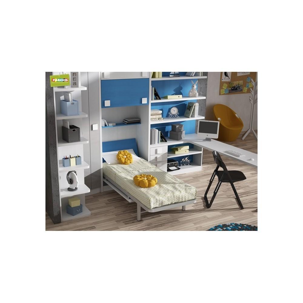 Donde comprar camas verticales abatibles de 105 for Dormitorios con cama de 105