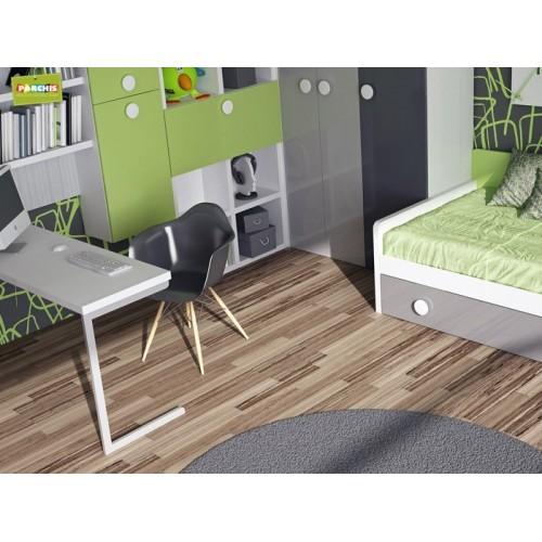 Dormitorio Cama Nido Verde