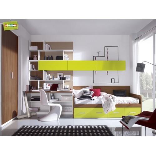 Dormitorio Cama Nido Doble