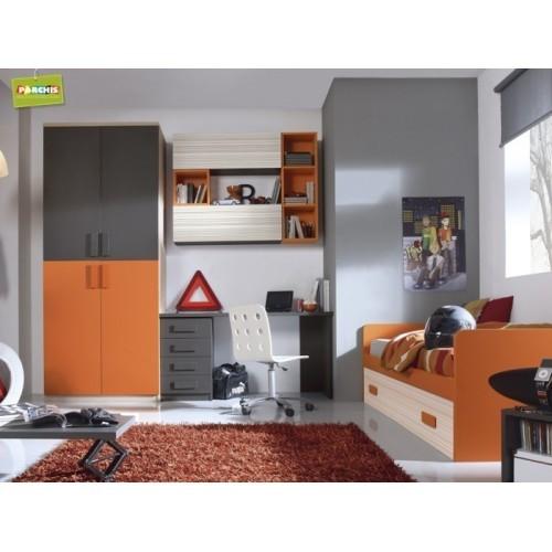 Dormitorio Cama nido Naranja