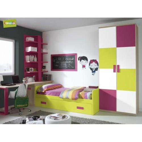 Dormitorio Cama Nido Iris
