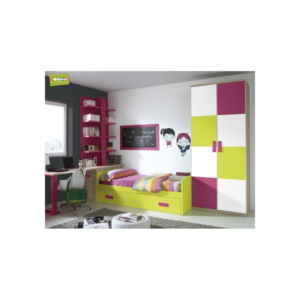 Dormitorio cama nido iris camas nido baratas for Camas triples baratas