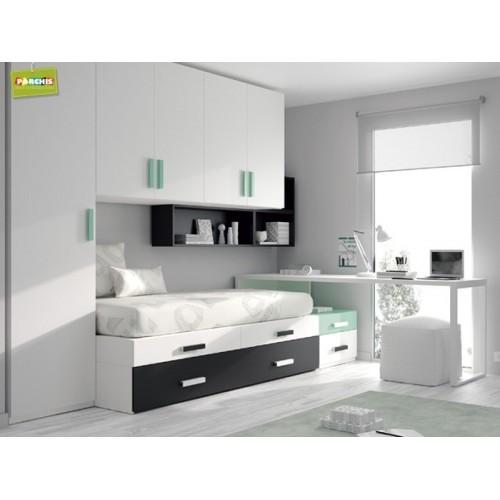 Dormitorio Cama Nido Block
