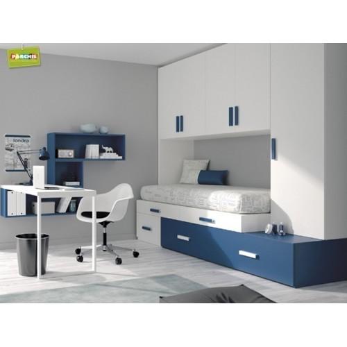 mobiliario juvenil con camas cubo para chicos camas block a medida