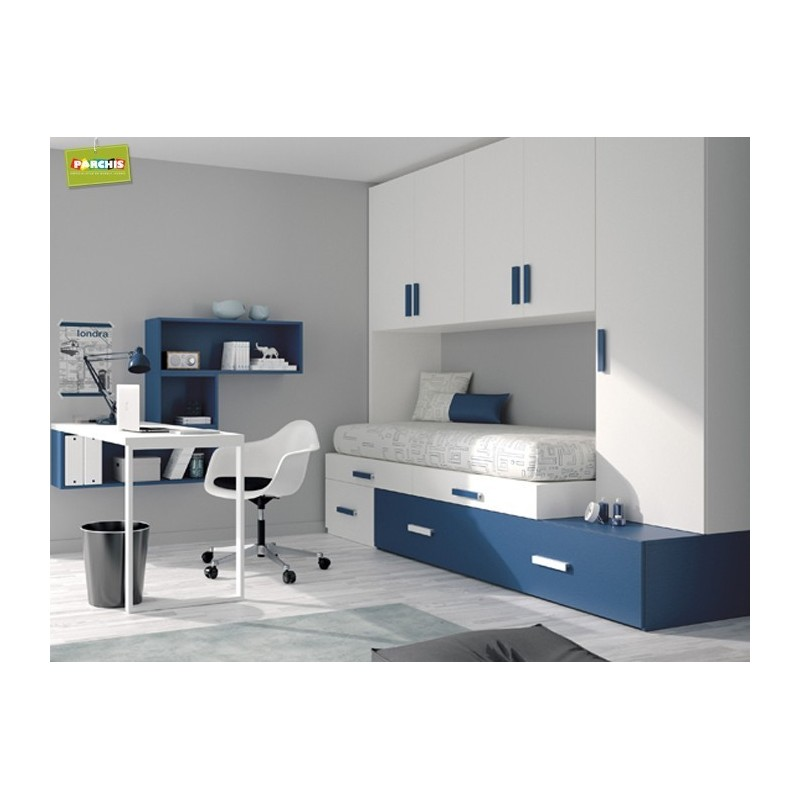 Dormitorio cama nido torres camas nido baratas for Camas nido baratas