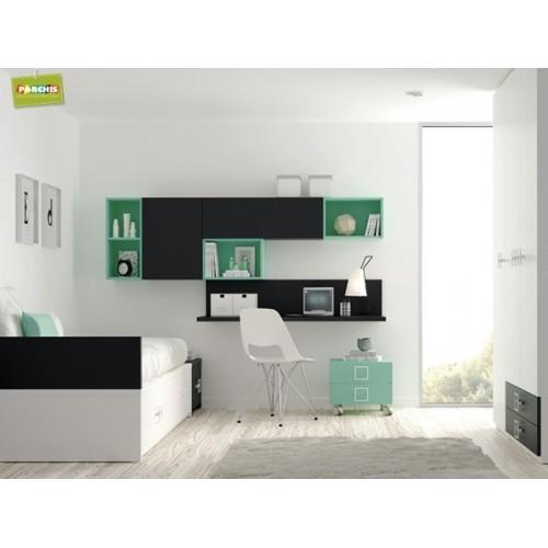 Dormitorio Cama Nido Green