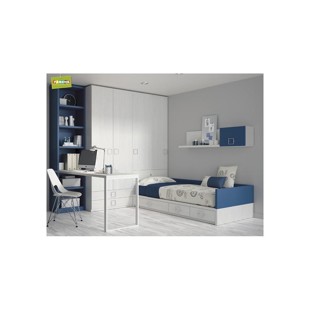 Dormitorio cama nido reloj camas nido baratas for Camas triples baratas