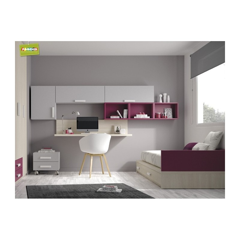 Camas nido en madrid economicas for Muebles modulares dormitorio