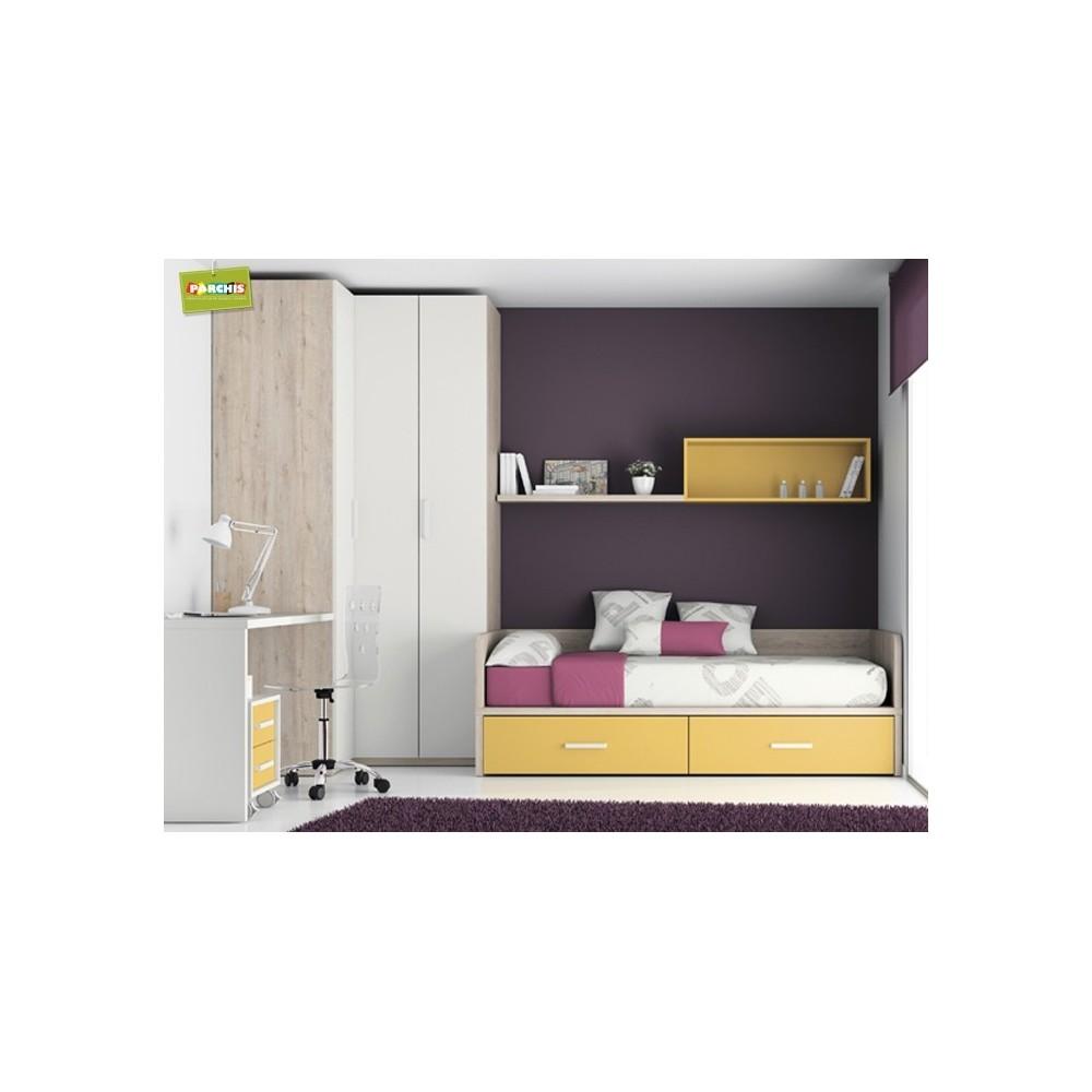 Camas nido en madrid economicas for Sofas para habitaciones juveniles