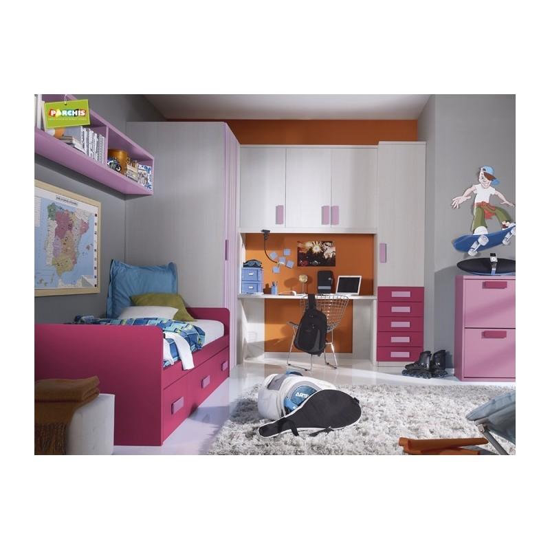 Dormitorios juveniles para chicas with dormitorios - Dormitorios juveniles chicas ...