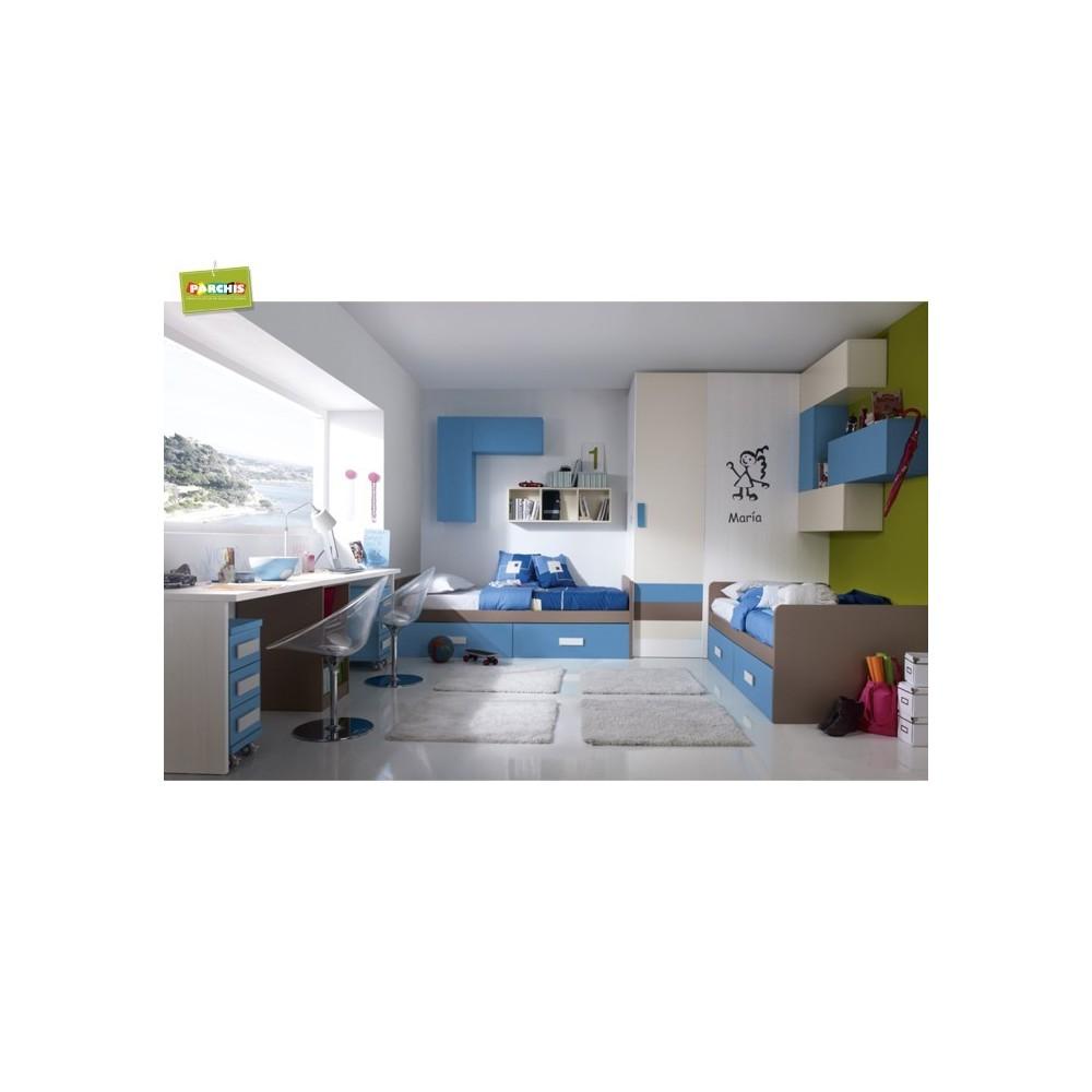 Comprar camas juveniles con tres camas comprar literas for Camas nido juveniles baratas