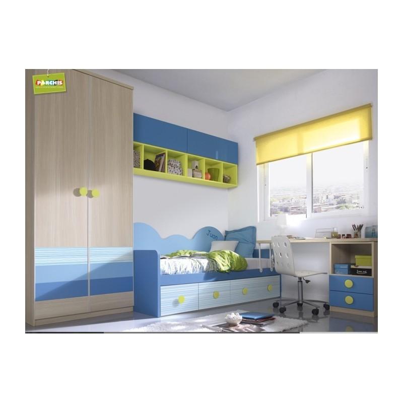 Comprar camas nido en madrid camas compactas camas - Muebles para espacios reducidos ...