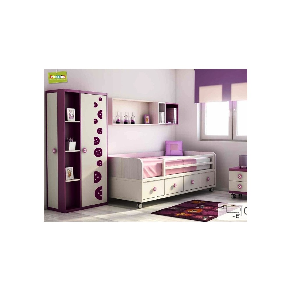 Ideas de muebles infantiles con camas nido como decorar for Ideas para camas