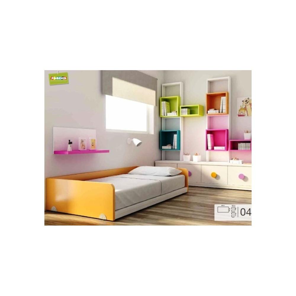 Comodecorarmuebles ideas para amueblar habitaciones - Decoracion camas nido ...