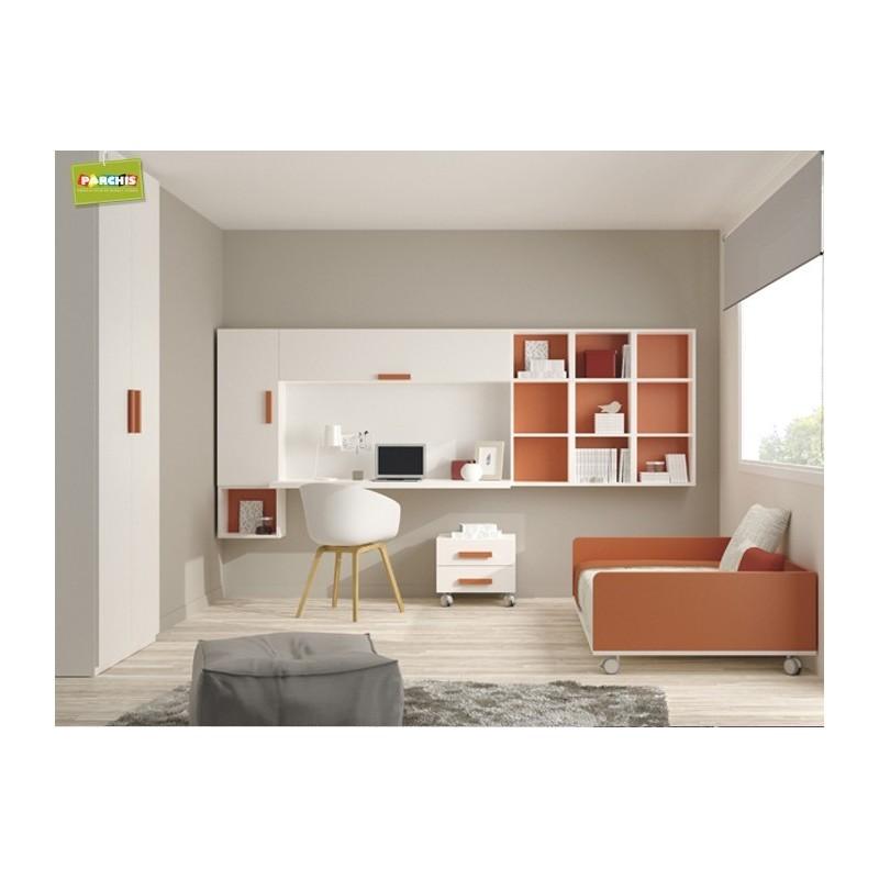 Camas nido dormitorios infantiles para espacios reducidos - Habitacion infantil cama nido ...