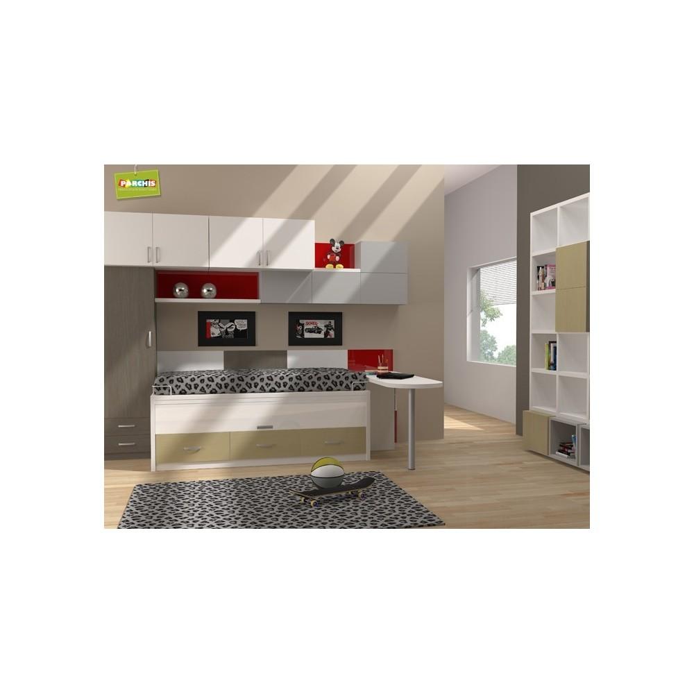 Habitaciones juveniles para chicos donde comprar muebles en madrid - Dormitorios juveniles en madrid ...