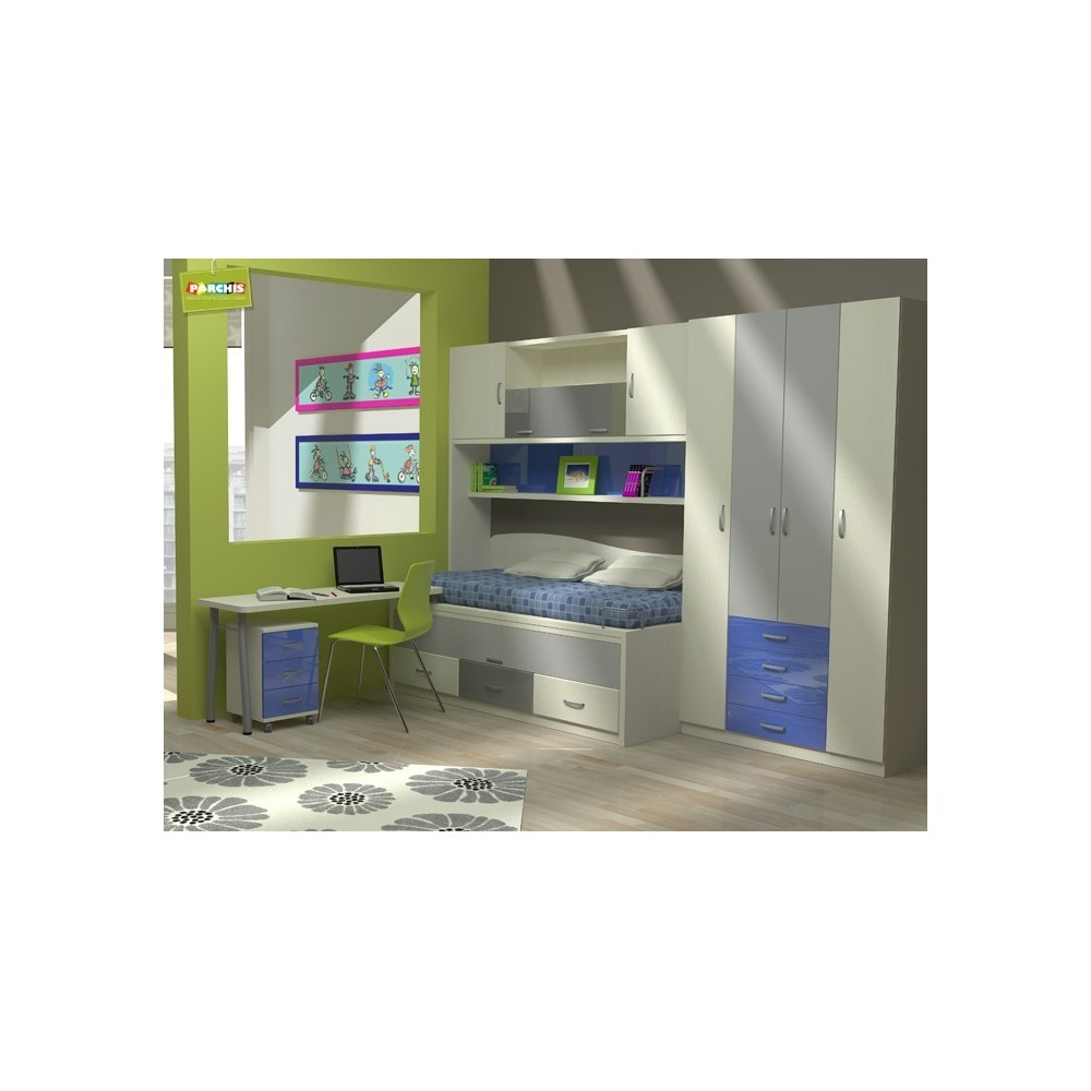 Comprar muebles baratos en madrid camas compactas - Muebles para chicos ...