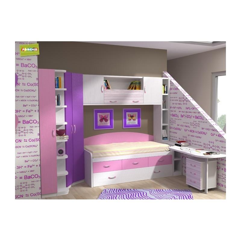 Habitaciones juveniles modulares comprar muebles en - Habitaciones modulares juveniles ...