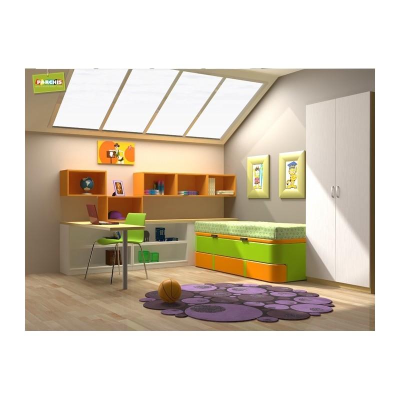 Muebles juveniles en madrid para chicos comprar muebles comapctos - Dormitorios juveniles dobles ...