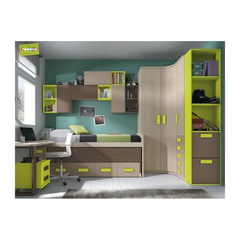 Decoracion dormitorio juvenil chico elegant decoracion - Dormitorios juveniles chicos ...