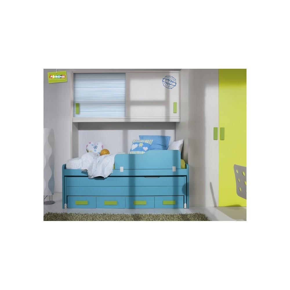 Dormitorio juvenil para chicos muebles en madrid for Camas para chicos