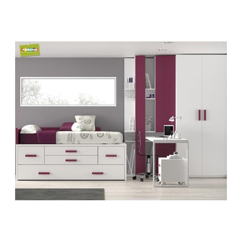Camas compactas en madrid 40 - Dormitorios juveniles en madrid ...