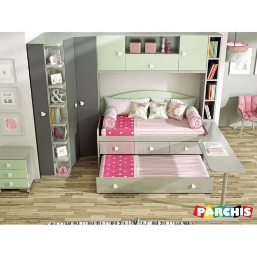 19- Muebles Juvenil con camas compactas | Comprar camas en Madrid