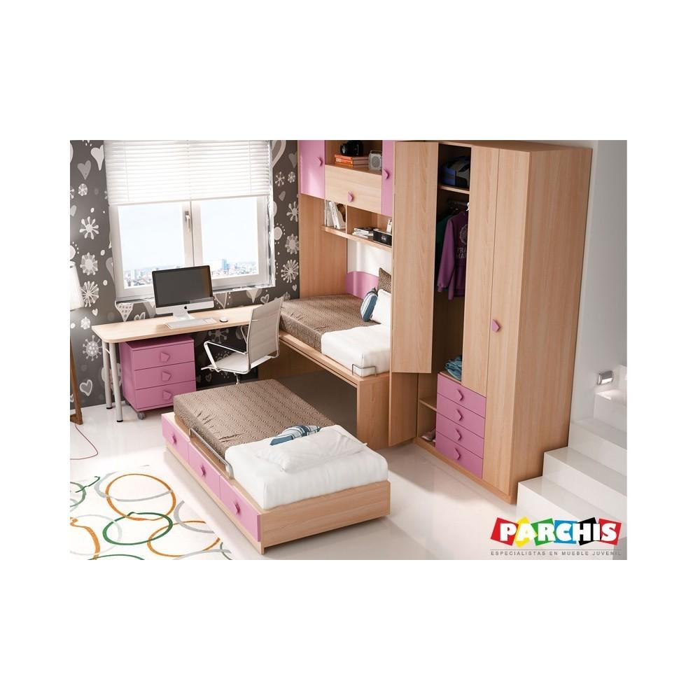 Juveniles chicas affordable best dormitorios modernos - Dormitorios juveniles chicas ...