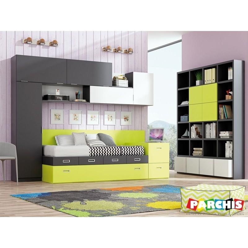 23-Compactas camas dobles para dos |Comprar muebles Toledo
