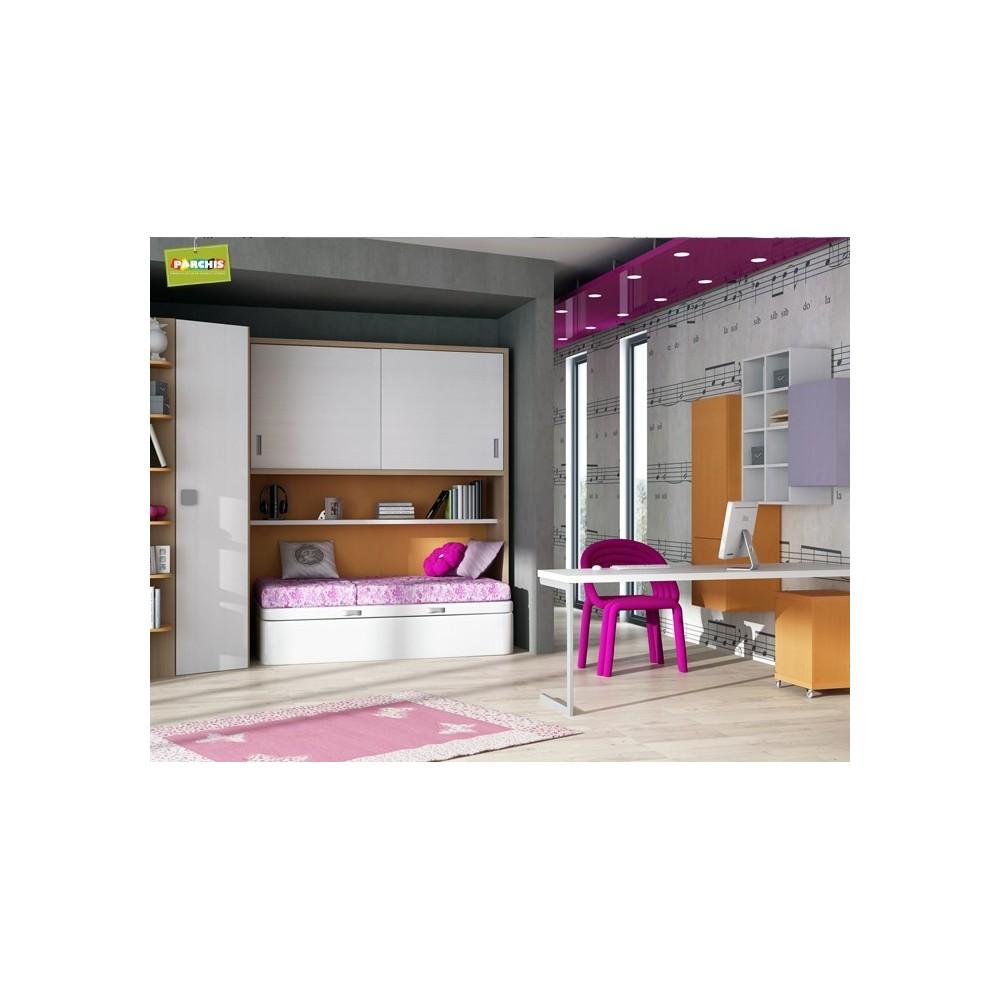 Camas individuales de 90 venta camas en madrid muebleseconomicos - Habitaciones juveniles muebles tuco ...