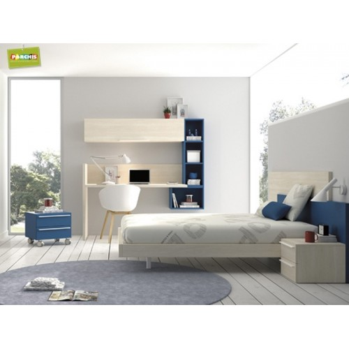 Dormitorios con camas individuales habitaciones - Habitaciones juveniles 2 camas ...