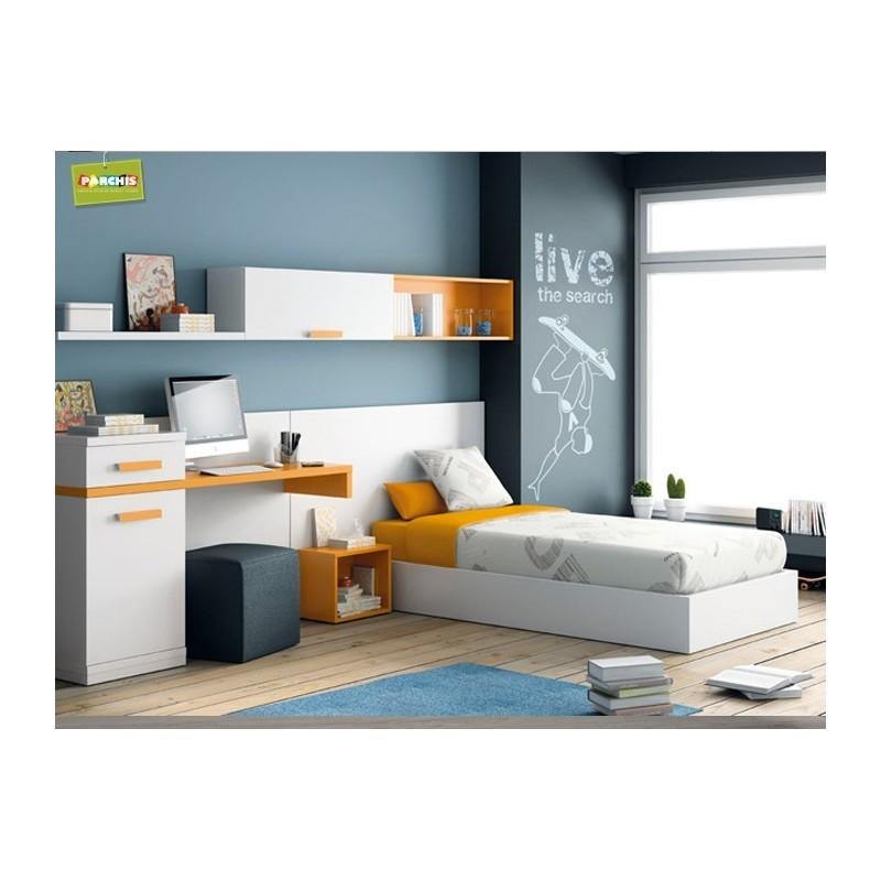 Camas nido divan muebles juveniles independientes for Fabrica de muebles juveniles en madrid