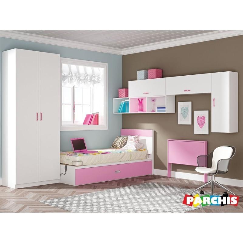 Muebles infantiles con camas individuales camas - Comprar sofa cama madrid ...