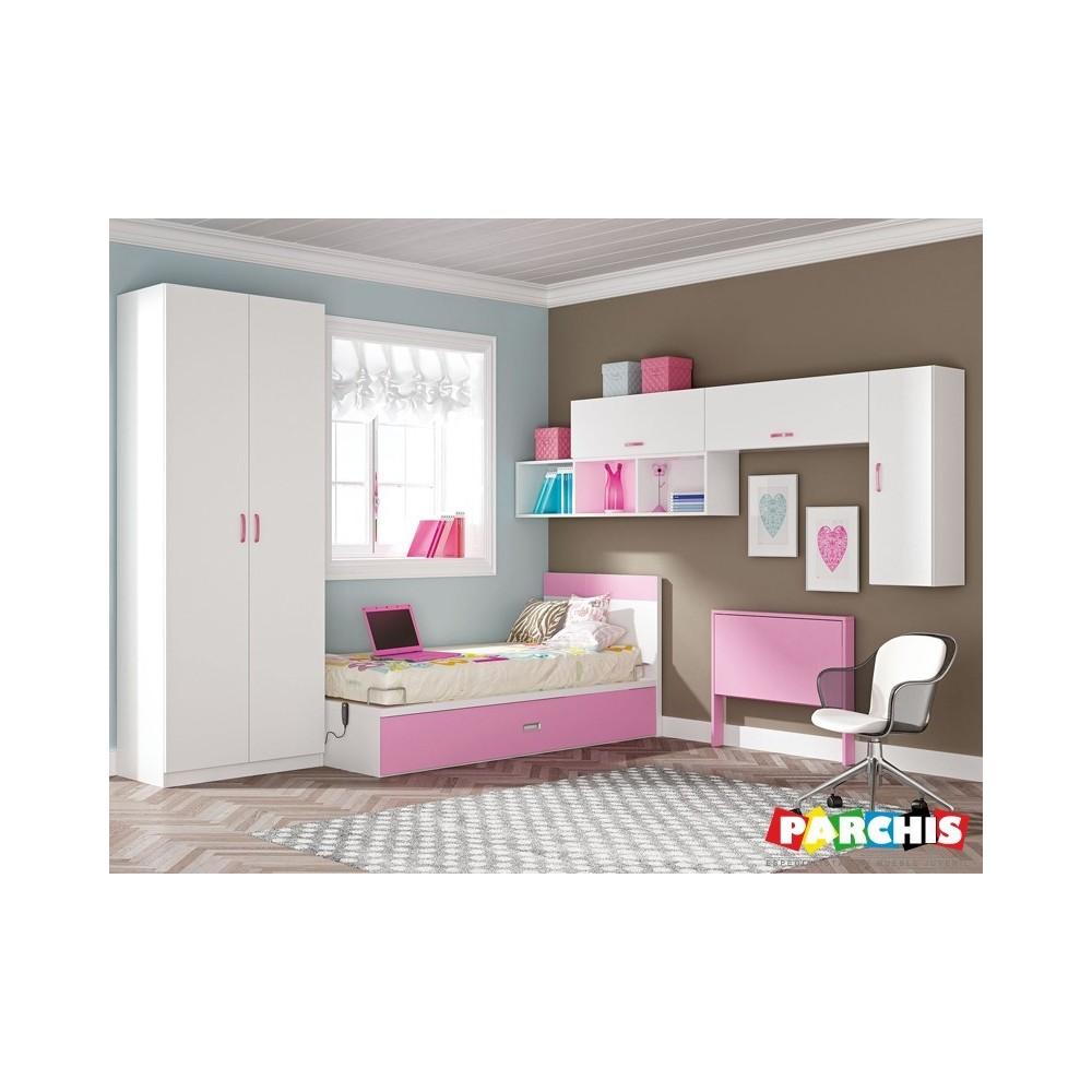 Muebles infantiles con camas individuales camas - Camas individuales infantiles ...