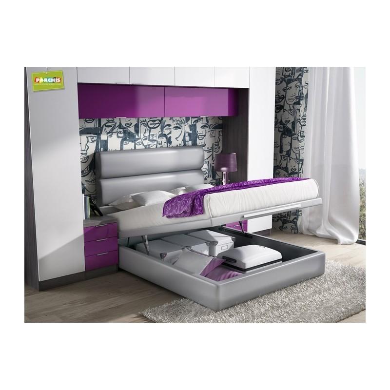 Habitacionesmatrimoniales camasdematrimonio camasde135canape for Camas individuales juveniles