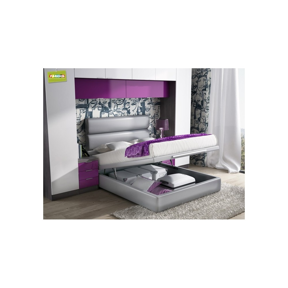 Habitacionesmatrimoniales camasdematrimonio camasde135canape for Muebles funcionales