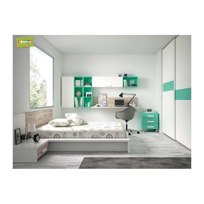 Habitacionesmodularesconmueblesjuveniles - Muebles modernos para habitaciones ...