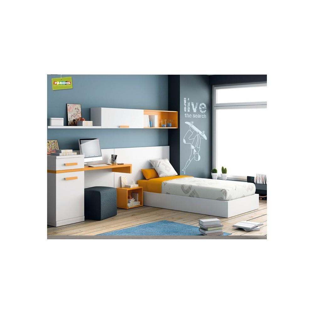 Camas nido divan muebles juveniles independientes for Roperos para dormitorios juveniles