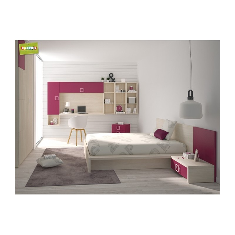 Dormitoriosjuvenilesparachicas ventamueblesjuvenilesenmadrid for Habitaciones juveniles chica