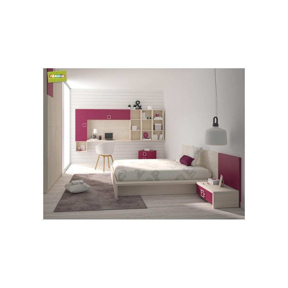 Dormitoriosjuvenilesparachicas ventamueblesjuvenilesenmadrid - Camas para chicas ...