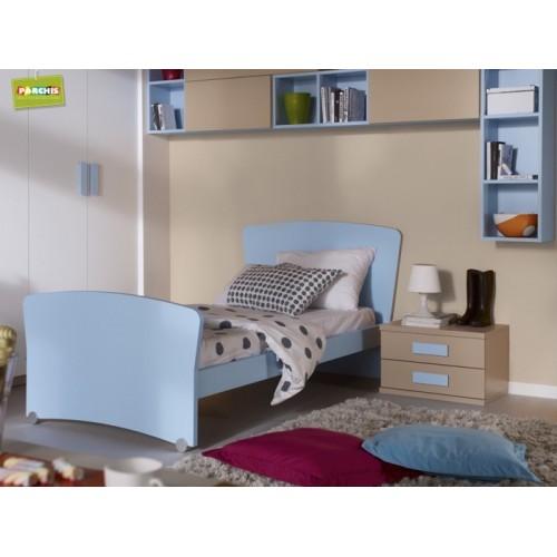 Dormitorios con camas individuales habitaciones juveniles 5 - Cama individual juvenil ...